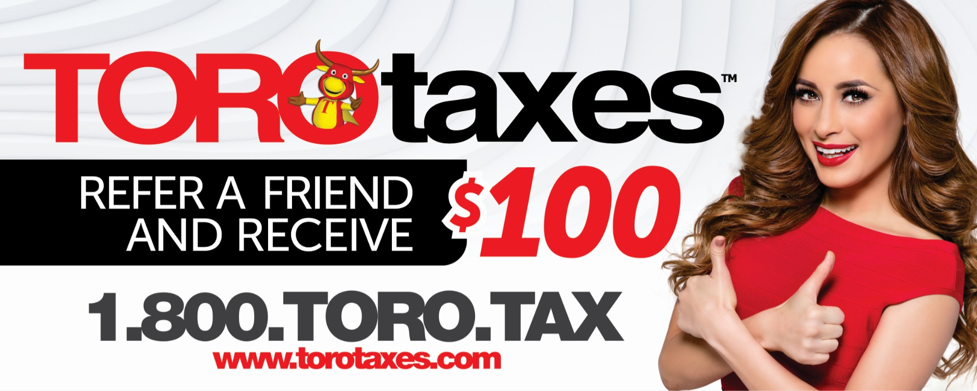 Toro Taxes refer a friend for $100